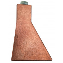 Soldeerbout roodkoper aansl. tapb.M8 tbv windkap (750gr)