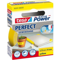 Tesa Extra Power katoen tape 56341 geel 2.75mtrx19mm  (1  rol)