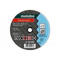 Metabo doorslijpschijf 150x2,0x22,2 rvs Flexiarapid