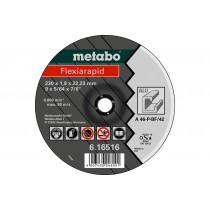Metabo doorslijpschijf 125x1,0x22,23mm Aluminium Flexiarap