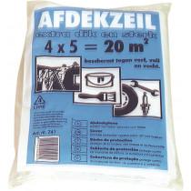 HDPE afdekfolie / LDPE afdekzeil 4x5 mtr LDPE dikte 40mu