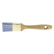 Copenhagen Gold S platte kwast acryl 1 inch synthetisch haar