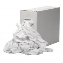 Poetsdoek badstof wit gesneden (8kg)