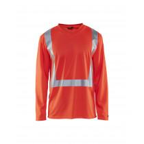 Blåkläder 3383 T-Shirt 130 g/m² High Visibility Lange Mouw