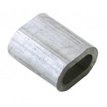 Flexcone huls 2.0mm (alu staaldraadklem) (100 stuks)