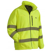 Blåkläder fleecejas high vis 4853-2560 geel mt 6XL