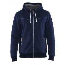 Blåkläder 4933 Hooded Sweatshirt met rits 430 g/m²
