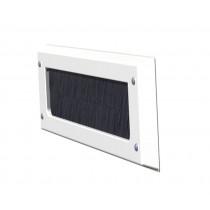 Door-Line binnenbriefplaat kunststof wit zonder klep