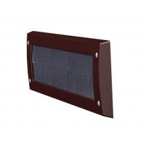 Door-Line binnenbriefplaat kunststof bruin zonder klep