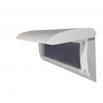 Door-Line binnenbriefplaat kunststof zilver