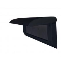 Door-Line binnenbriefplaat kunststof zwart