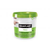 Aguaplast fibra kant-klaar flexibel plamuur in emmer (750ml)
