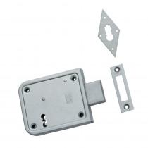 Nemef kelderbandslot 91/11 dm70 met 2 sleutels ls/rs