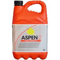 Aspen 2 FRT a 5 liter schone alkylaatbenzine voor tweetaktmotoren