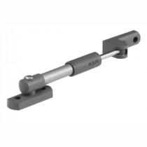 Axa/Wepewe raamuitzetter zilver (staal grijs) buitendraaiend 20cm