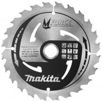 Makita zaagblad Mforce 185x30x2,0mm 24T 15G B-08040