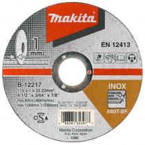 Makita doorslijpschijf 125x08 rvs Z60T- B-45733