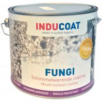 Inducoat Fungi Indoor schimmelwerende muurverf mat wit (1ltr)