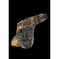 DeWalt Combihamer  Dch323t2-Qw 54v Xr Flexvolt Sds+ 2,8j