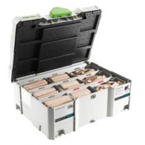 Festool domino XL assortimentsystainer D8/D10 (306 stuks BU)