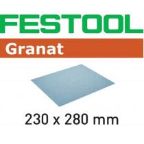 Festool schuurpapier Granat 230x280mm K100 (10st)