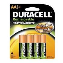 Duracell Stay Charged batterij oplaadbaar AA 2400MAH (4st)