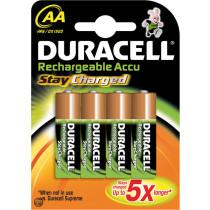 Duracell Stay Charged batterij oplaadbaar AAA 800MAH (4st)