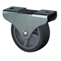 Bokwiel 25mm rubber hoogte 29mm