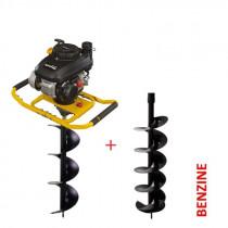 Lumag Twee persoons grondboormachine 4-takt 3 EB400PRO
