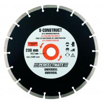 Perfectmate diamantzaagblad S-construct (230mm)