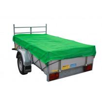 Aanhangwagennet fijnmazig groen 3.0x2.0mtr
