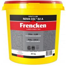 Frencken houtlijm Nova Col D2 A in emmer(25kg)