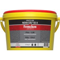 Frencken houtlijm Nova Col D2 A in emmer (2,5kg)