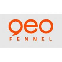 Geo Fennel Bouwplank- kolomklem voor hor. & vert. werken met laser