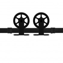 GPF schuifdeursyteem Suuri zwart 170cm