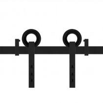 GPF schuifdeursysteem Neula zwart 200cm