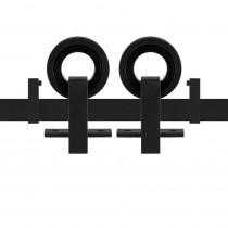 GPF schuifdeursysteem Ankkuri zwart 200cm