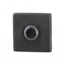 GPF beldrukker vierkant 50x50x8mm m. zwarte button