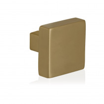 GPF vierk knop knop 53x53x16mm vast incl. metaalschroef M10