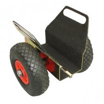 Kozijnklemwagen/platenwagen 120mm met luchtbanden