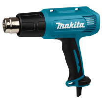 Makita 230V heteluchtpistool HG5030K met div. opzetstukken