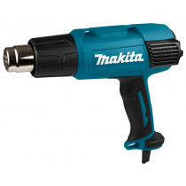 Makita 230V heteluchtpistool HG6031VK met div.opzetstukken