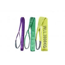 Hijsband met lussen groen tot 2000kg breed 60mm L=3000mm