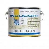 Inducoat Fungi Indoor schimmelwerende muurverf mat wit (2,5l)