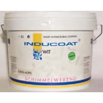 Inducoat Fungi Indoor schimmelwerende muurverf mat wit (5ltr)