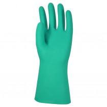 DPL handschoen nitril groen gecoat mt L (09)