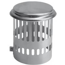Kraaienkap aluminium diam. 160mm
