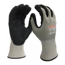 Kyorene handschoen 01-101 Nitril grijs/zwart mt 11 (XXL)