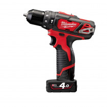 Milwaukee M12BDPD-402C accu Compactslagboormachine 12V 4.0Ah