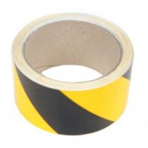 Tesa markeringstape geel/zwart